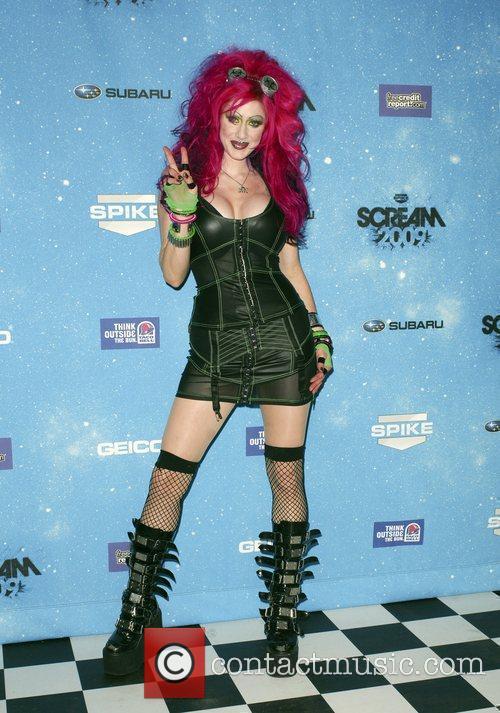 Vyxsin Fiala Spike TV's 2009 Scream Awards held...