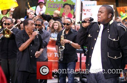 Performing live on the 'Today Show's Summer Concert...