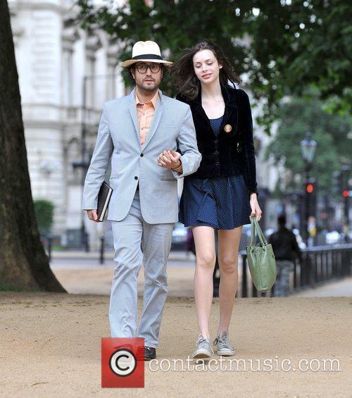 Sean Lennon and Girlfriend Charlotte Kemp Muhl 2