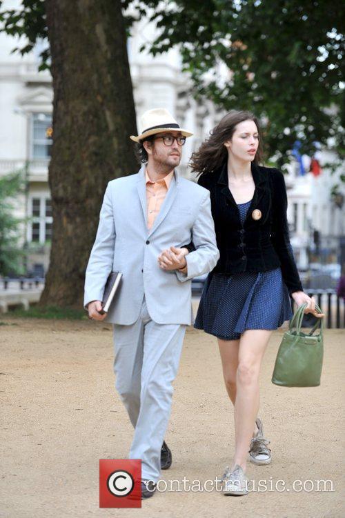 Sean Lennon and Girlfriend Charlotte Kemp Muhl 4