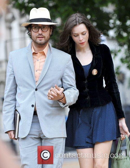 Sean Lennon, girlfriend Charlotte Kemp Muhl