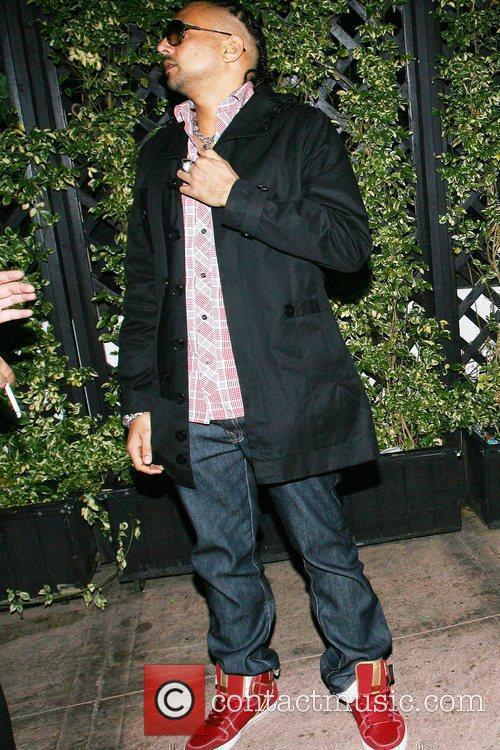 Sean Paul at Cabana Club in Hollywood where...