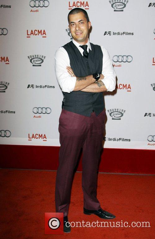 Jason Arashben arrives at the special screening of...