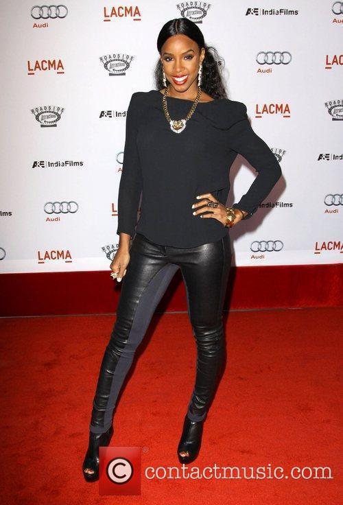 Kelly Rowland arrives at the special screening of...