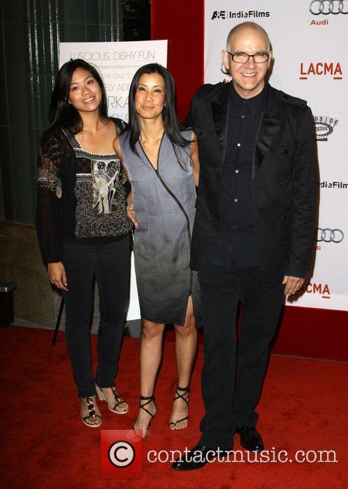 Lisa Ling (C) and Guests arrives at the...