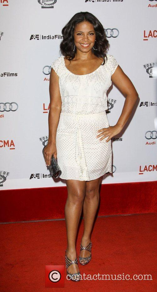 Sanaa Lathan arrives at the special screening of...
