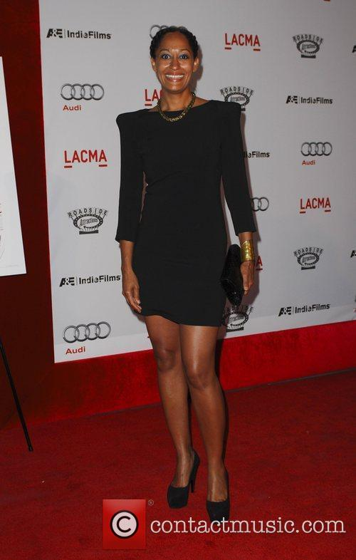 Tracee Elis Ross arrives at the special screening...