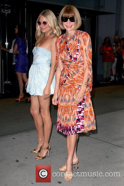 Sienna Miller and Anna Wintour  Premiere of...