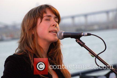 Juno Award-winning Canadian singer/songwriter Serena Ryder performs to...