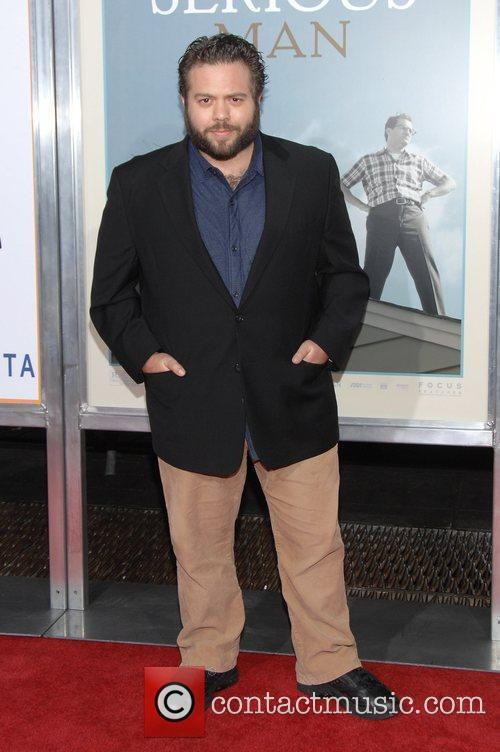 Dan Fogler Premiere of 'A Serious Man' at...