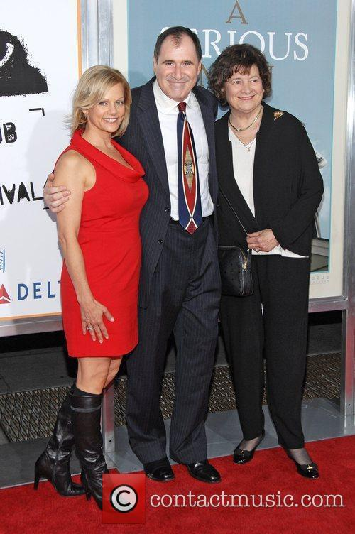 Richard Kind and his wife and mother Premiere...