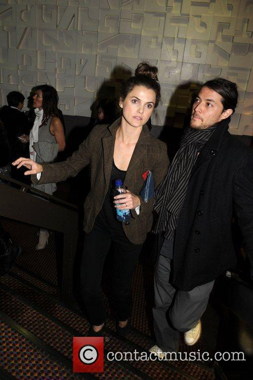 Keri Russell and Her Husband Shane Deary 2