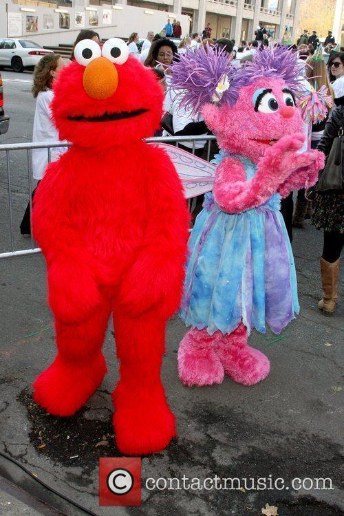 Elmo, Abby Cadabby, Sesame Street Benefit Gala