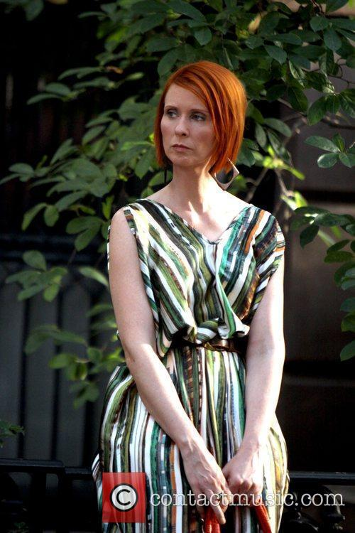 Cynthia Nixon and Sex And The City 11