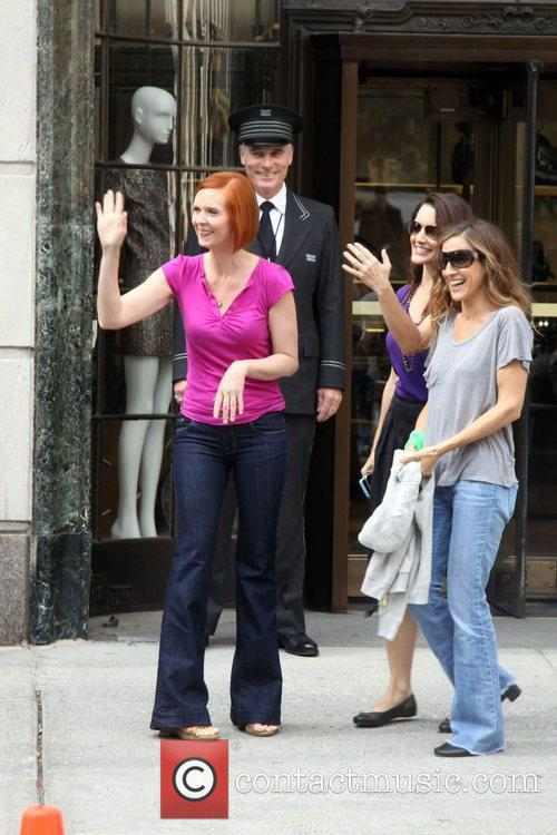 Cynthia Nixon, Sarah Jessica Parker and Sex And The City 2