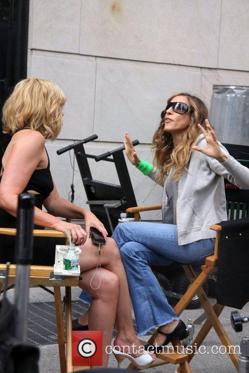 Kim Cattrall and Sarah Jessica Parker reunite on...