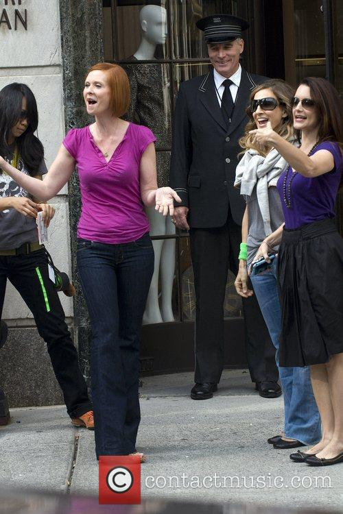 Cynthia Nixon, Sarah Jessica Parker and Sex And The City 3