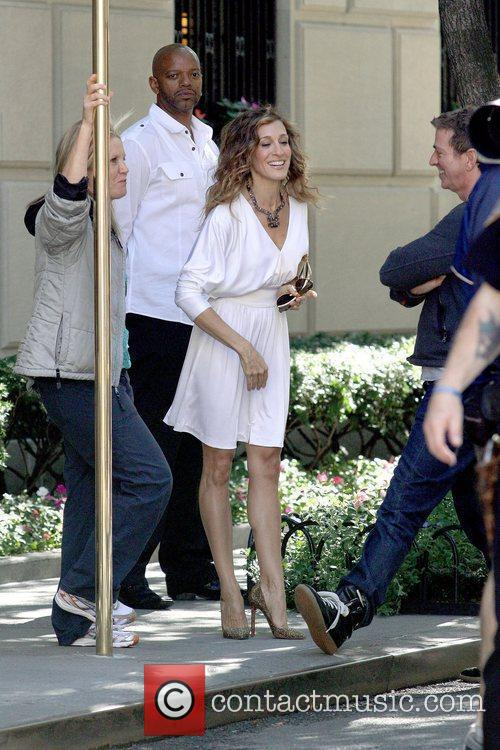 Sarah Jessica Parker and Michael Patrick King on...