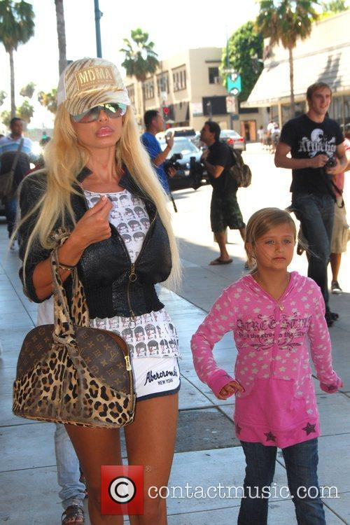 Shauna Sand and her daughters  out and...