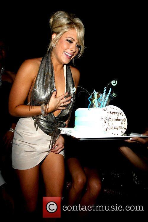 Shayne Lamas  celebrates her 24th birthday with...