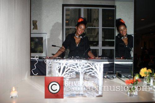 DJ Beverly Bond The She-Blogs launch party sponsored...