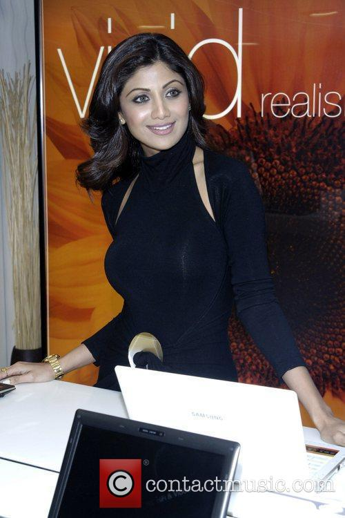 Shilpa Shetty attends the launch of the new...