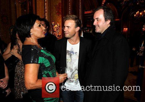 Shirley Bassey, Gary Barlow and David Arnold 1