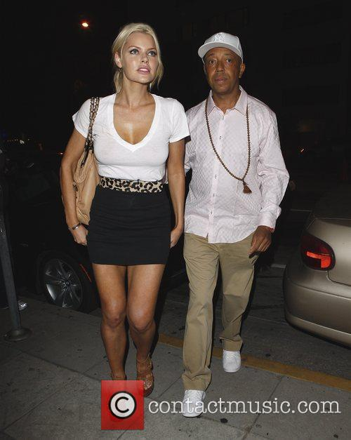 Russell Simmons and Sophie Monk Go Out For Dinner At Katana Restaurant 7