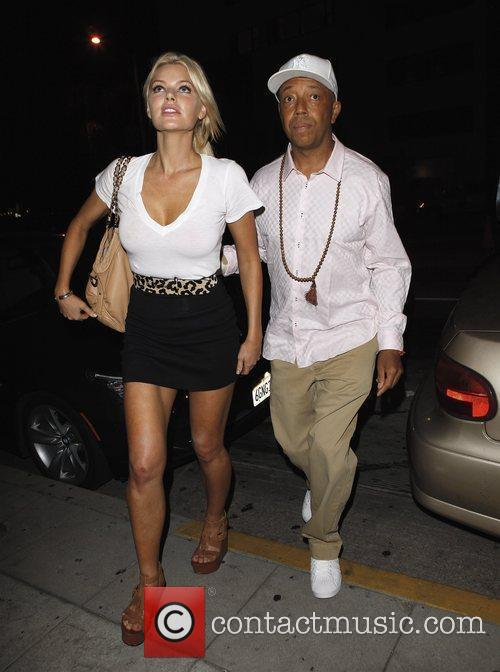 Russell Simmons and Sophie Monk Go Out For Dinner At Katana Restaurant 8