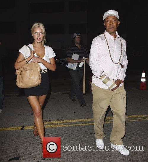 Russell Simmons and Sophie Monk Go Out For Dinner At Katana Restaurant 4
