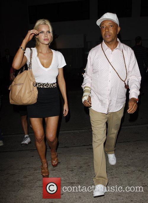 Russell Simmons and Sophie Monk Go Out For Dinner At Katana Restaurant 3