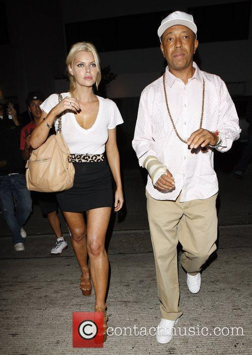 Russell Simmons and Sophie Monk Go Out For Dinner At Katana Restaurant 5