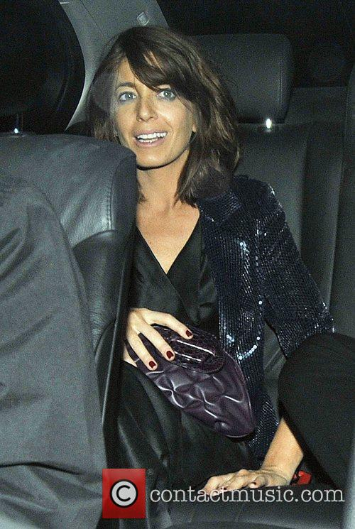 Claudia Winkleman and Simon Cowell 1