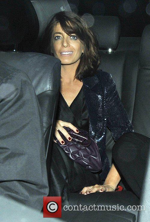 Claudia Winkleman and Simon Cowell 3