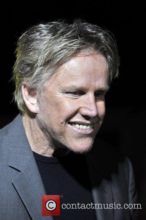 Gary Busey  at the Simpsons Treehouse Of...