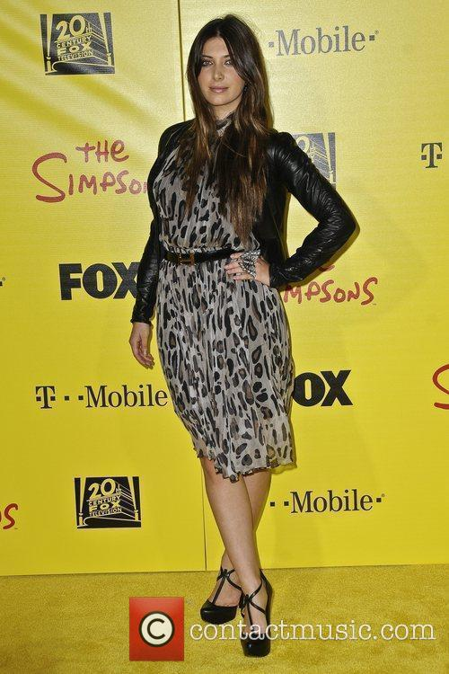 Brittny Gastineau and The Simpsons 1
