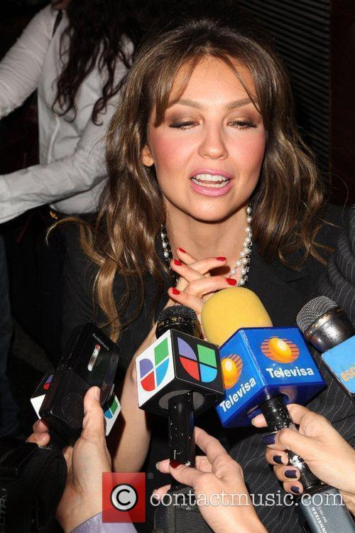 Mexican pop singer mexican pop singer thalia new york city usa