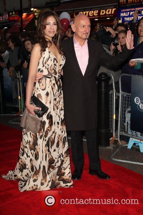 Ben Kingsley and Daniela Lavender Premiere of 'A...