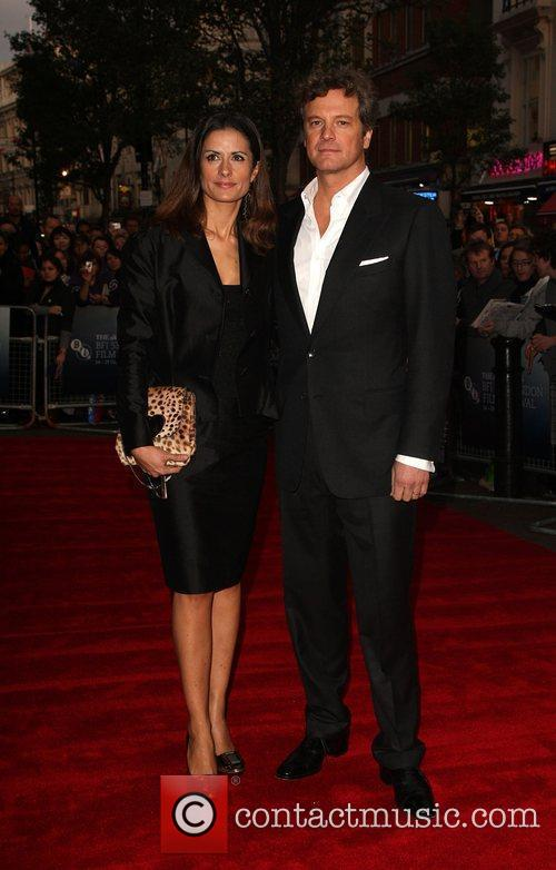 Colin Firth and Livia Giuggioli 6