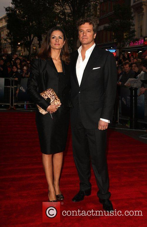 Colin Firth and Livia Giuggioli 5