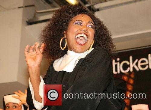 Patina Miller  The cast of 'Sister Act'...