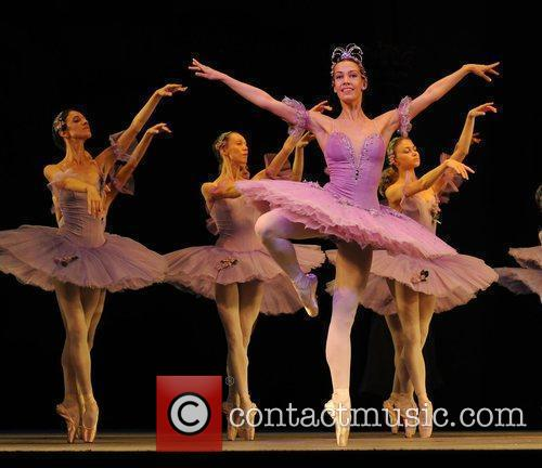 The Mariinsky (Kirov) Ballet & Opera ensemble perform...