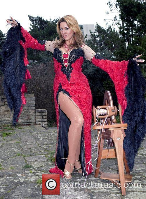 Photocall to promote the production of 'Sleeping Beauty'...