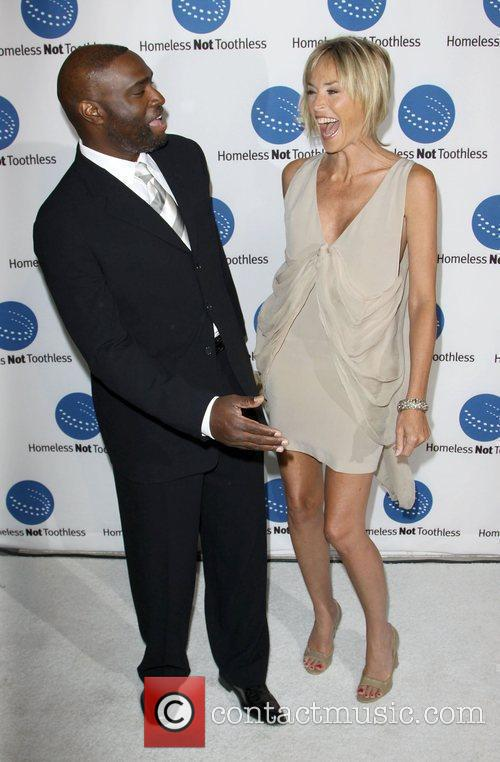 Antwone Fisher and Sharon Stone 1