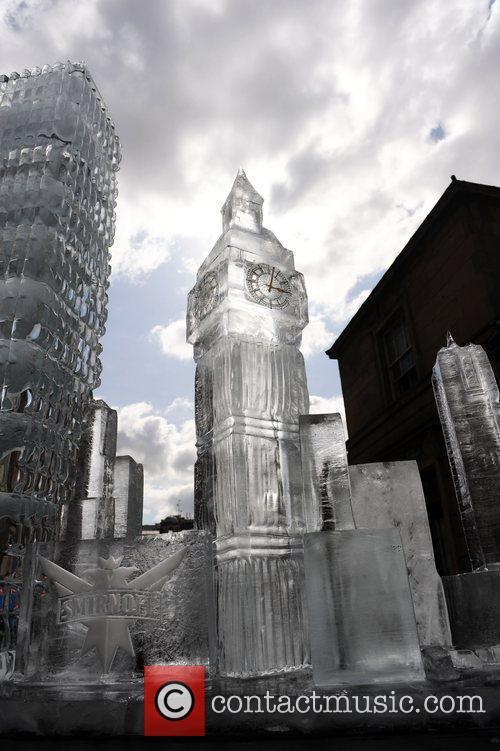 Big Ben  Ice Sculptures of London's skyline...