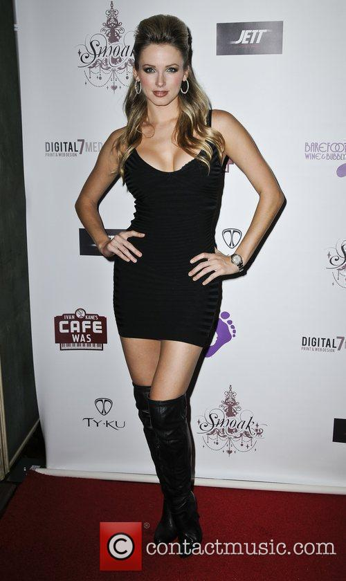 Shanna Moakler launches Smoak Cosmetic Line at Cafe...
