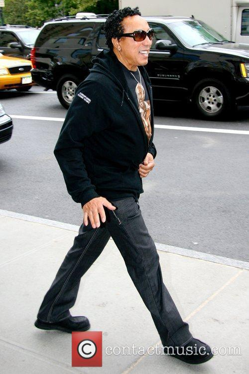 Smokey Robinson R&B singer-songwriter out and about in...