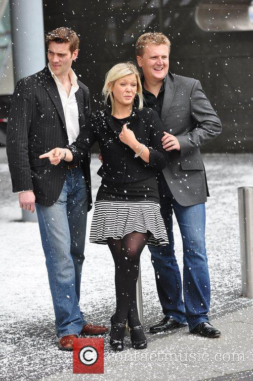 Adam Cooper, Suzanne Shaw and Aled Jones 1