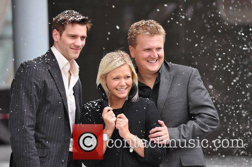 Adam Cooper, Suzanne Shaw and Aled Jones 5
