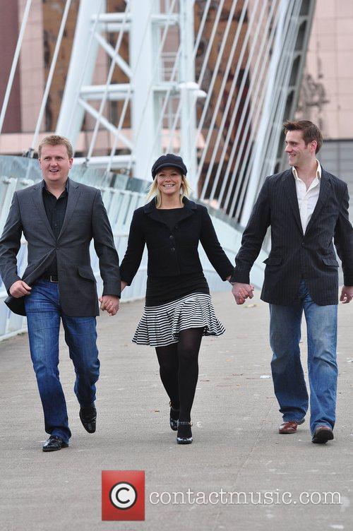 Aled Jones, Suzanne Shaw and Adam Cooper 'Snow...